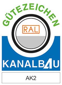 Logo RAL GZ 962 Gütegemeinschaft Leitungstiefbau e.V.