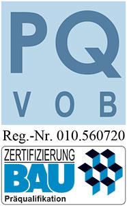 Logo Präqualifikation PQ Zertifikat
