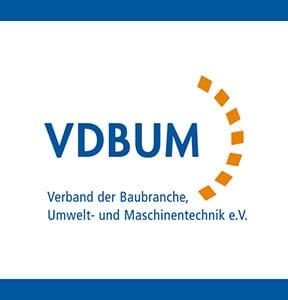 Logo VDBUM Fachgemeinschaft Saugbagger