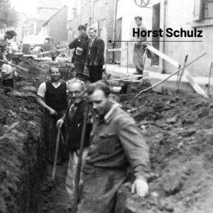 Historisches Foto Bauarbeiter 1963