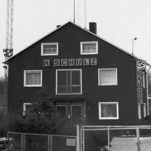 Historisches Foto Schulz Gebäude 1972