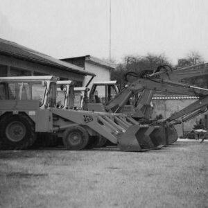 Historisches Foto Fuhrpark 1967